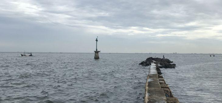 ジャカルタ釣り2回目。バラマンディが釣れる場所に行ってみた。