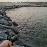 トーゴのロメでロックフィッシュ釣りしてきました!!