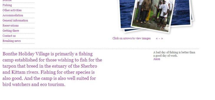 アトランティックターポン釣りinアフリカのシエラレオネ。世界記録狙えますw