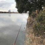 東京リバーフィッシング第一戦、冬の釣りはしんどいね